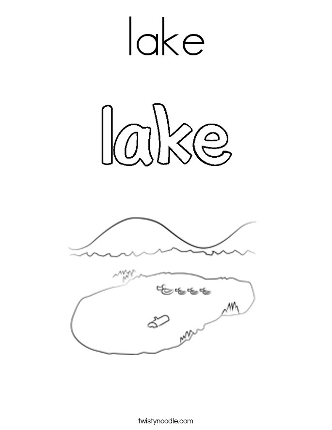 lake coloring page help the environment kids environment kids health page coloring lake
