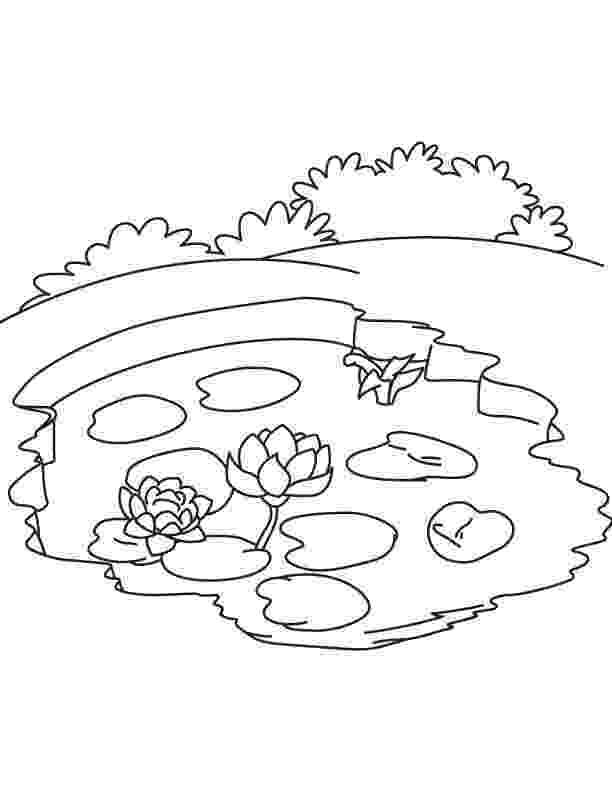 lake coloring page lake 14 nature printable coloring pages lake coloring page