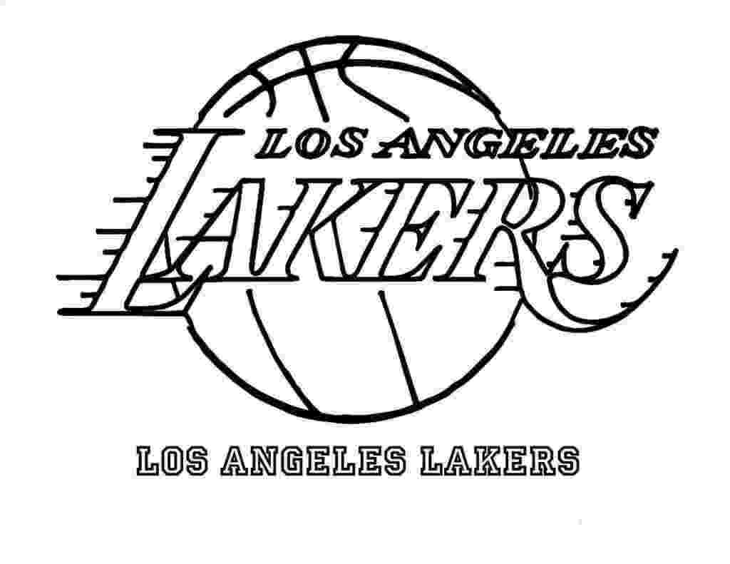 lakers coloring pages free printable nba national basketball association coloring pages lakers