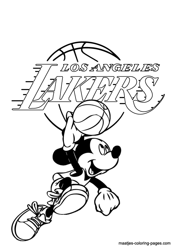 lakers coloring pages get this free nba coloring pages for kids ad58l coloring lakers pages