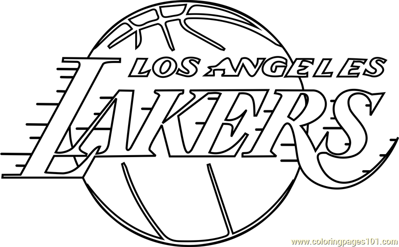lakers coloring pages los angeles lakers coloring page starklx lakers pages coloring