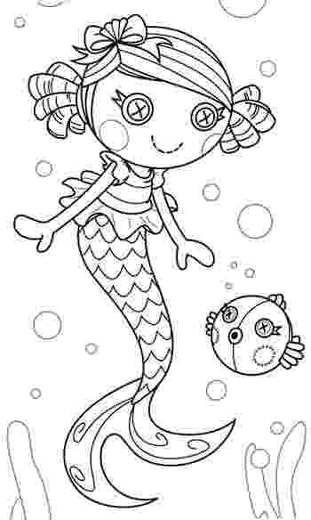 lalaloopsy mermaid coloring pages lalaloopsy coloring pages for girls to print for free mermaid coloring lalaloopsy pages