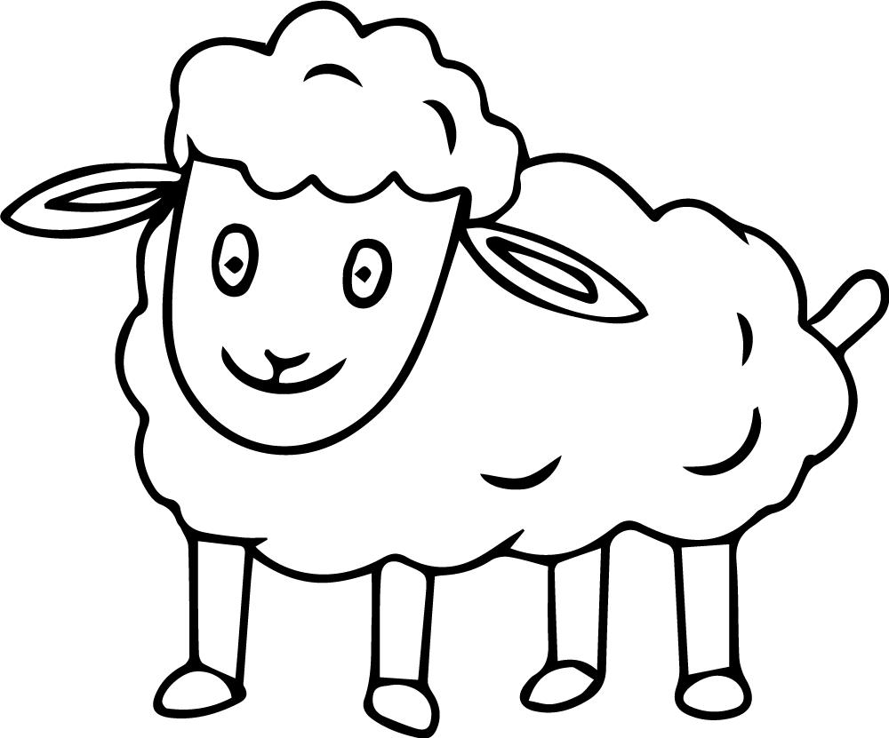 lamb coloring sheet free printable sheep coloring pages for kids lamb coloring sheet