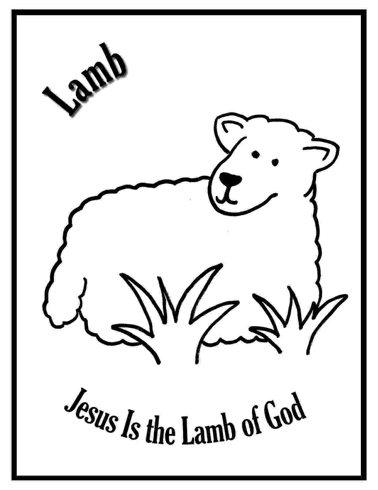 lamb coloring sheet sheep and lamb free farm animals coloring pages to print coloring sheet lamb