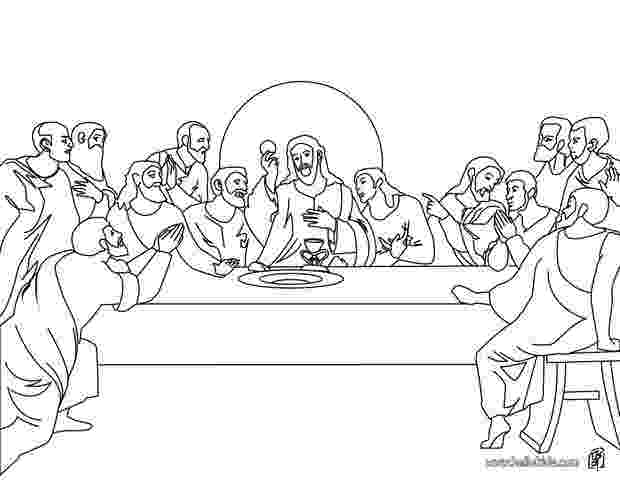 last supper coloring page garden of mary dedicated to our blessed mother the coloring supper page last