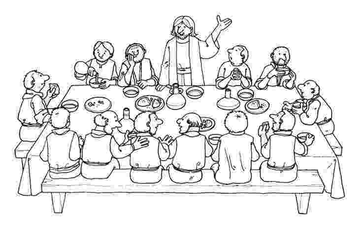 last supper coloring page jesus shared dipped bread to judas in the last supper supper page coloring last