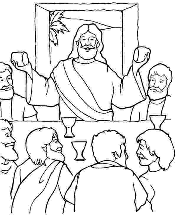 last supper coloring page last supper coloring page bible jesus the lord39s supper last page coloring