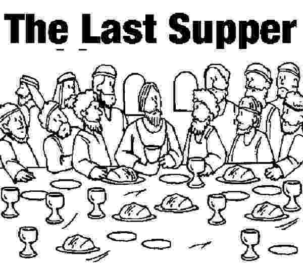 last supper coloring page the last supper bible coloring pages bible palm sunday page coloring last supper