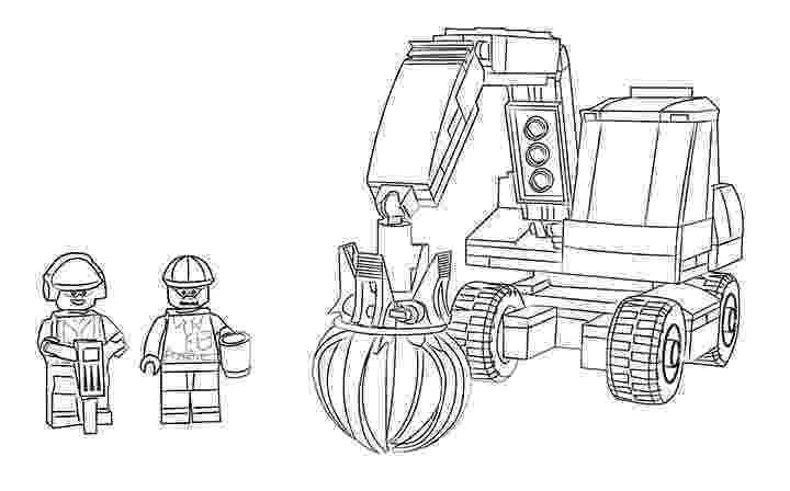 lego city coloring page lego city ausmalbilder 60075 bagger und transportwagen page city lego coloring