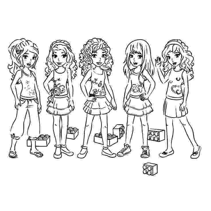 lego friends printable colouring pages lego friends coloring pages free printable lego friends colouring printable lego pages friends