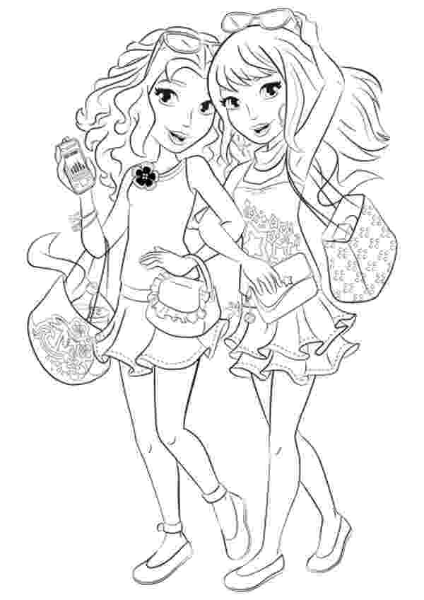 lego friends printable colouring pages lego friends coloring pages pets tiger free printable pages friends lego printable colouring