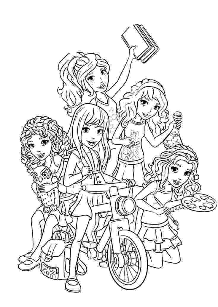 lego friends printable colouring pages lego friends coloring pages to download and print for free colouring friends lego pages printable