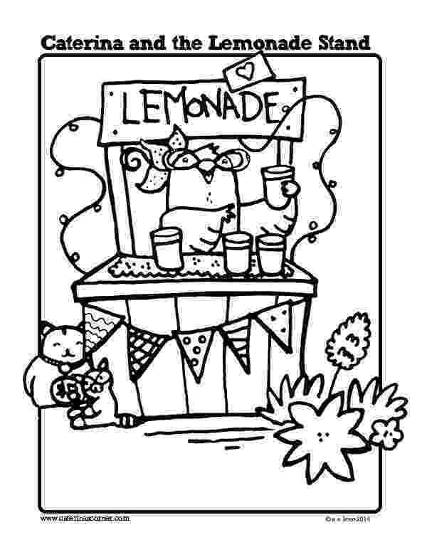 lemonade coloring page cartoon lemonade coloring pages free printable coloring lemonade page coloring