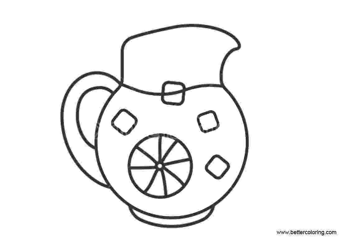 lemonade coloring page coloring activity pages alex39s lemonade stand page lemonade coloring