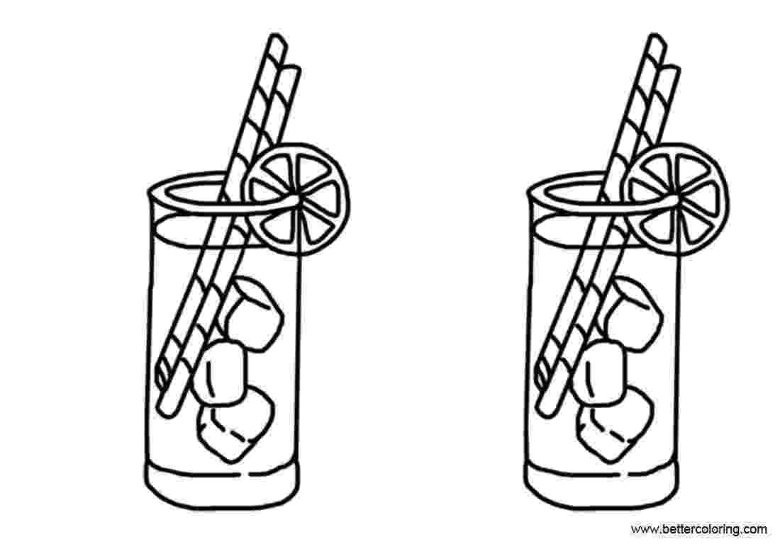 lemonade coloring page lemonade coloring pages with bubbles free printable lemonade coloring page