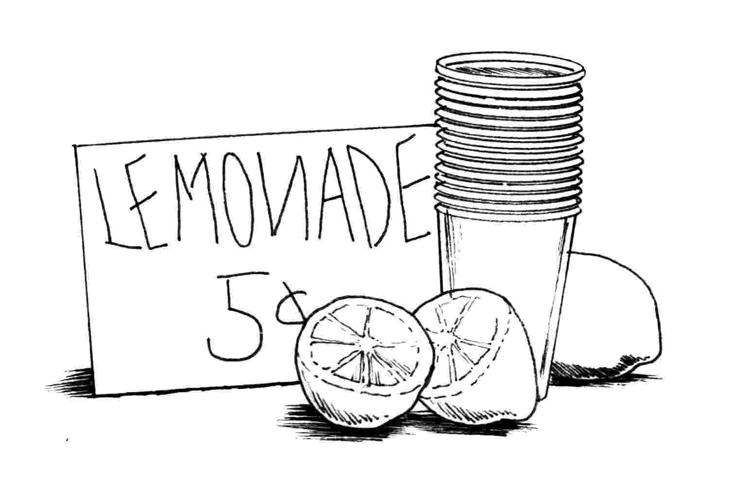 lemonade coloring page lemonade coloring pages with ice free printable coloring coloring lemonade page