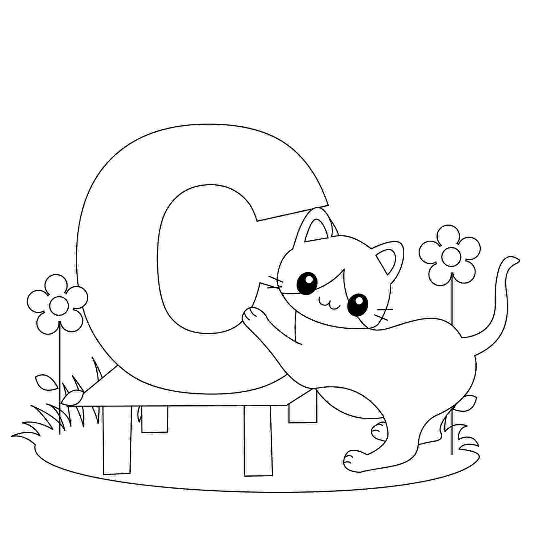 letter c coloring page free printable alphabet coloring pages for kids best coloring c letter page