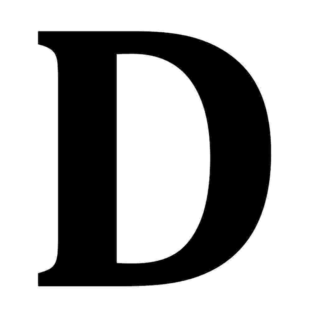 letter d barton 6 in black stainless steel floating house letter d d letter