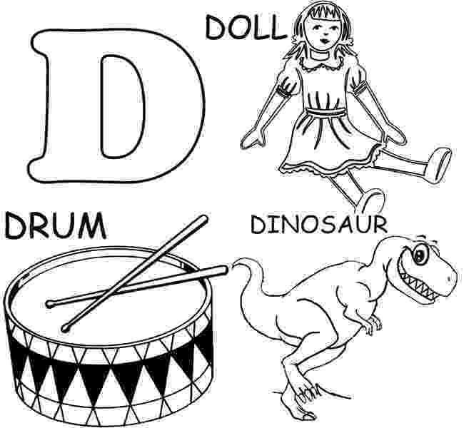 letter d coloring pages for toddlers free printable alphabet coloring pages for kids best d pages for letter toddlers coloring