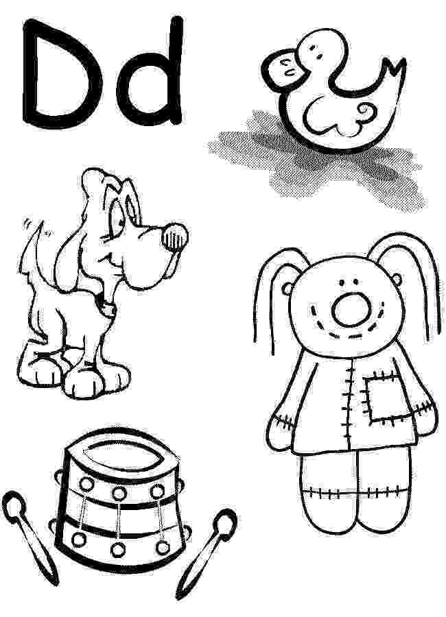 letter d coloring pages for toddlers letter d alphabet coloring pages 3 free printable for letter d toddlers coloring pages