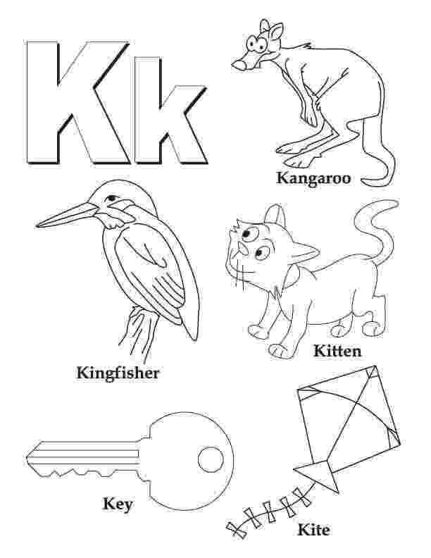 letter k coloring pages free printable alphabet coloring pages for kids best pages coloring letter k