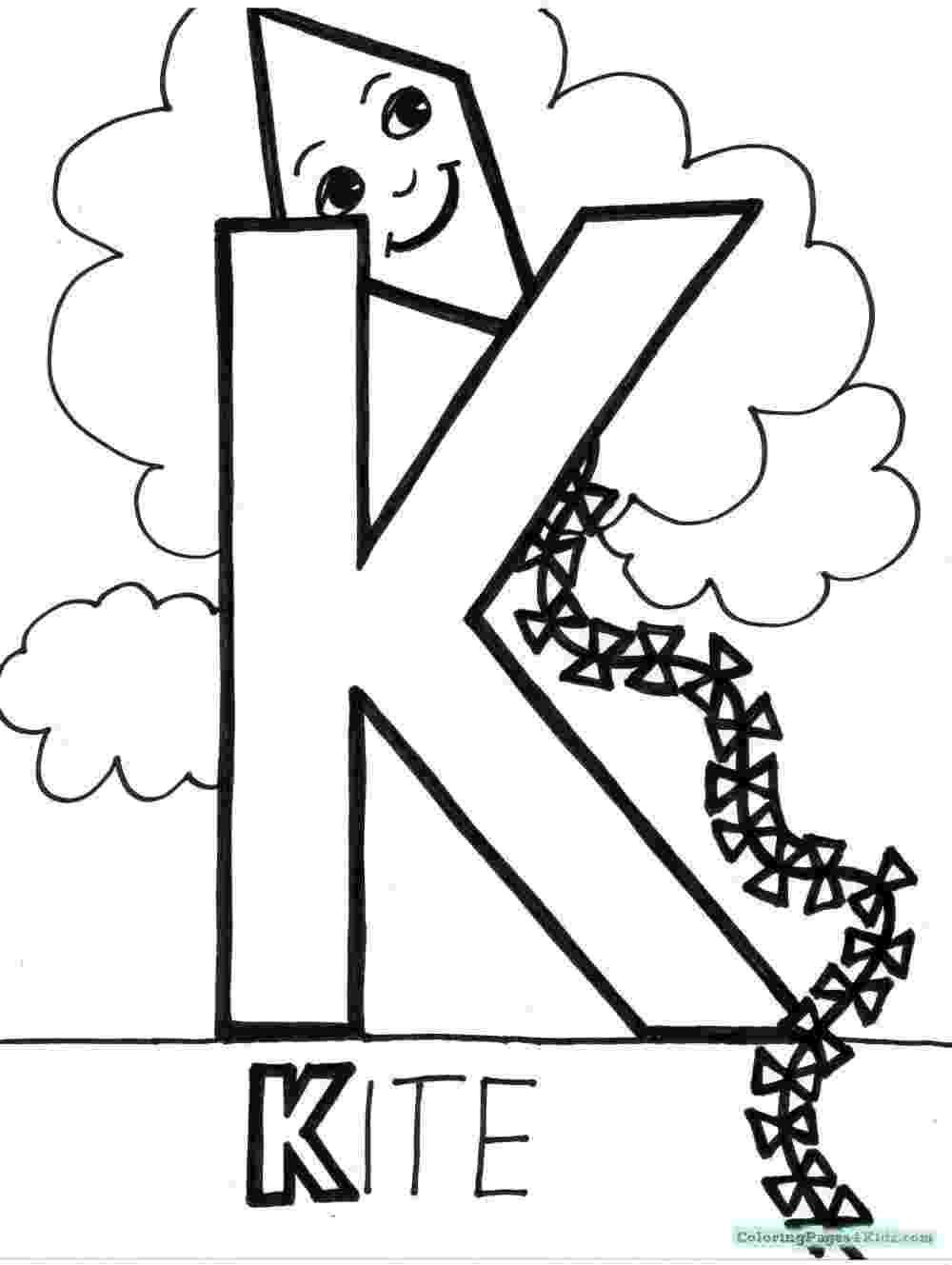 letter k coloring pages letter k is for kite coloring page free printable pages letter coloring k