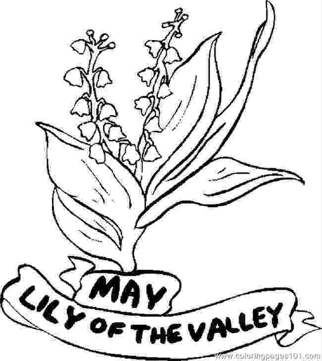 lily of the valley coloring page lily of the valley coloring pages download and print lily lily the coloring valley page of