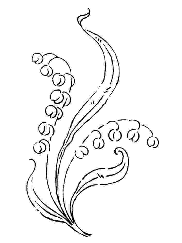 lily of the valley coloring page lily of the valley coloring pages download and print lily page the lily valley of coloring