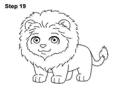 lion cartoon 3d art drawing ronjoewhite november 2009 lion cartoon