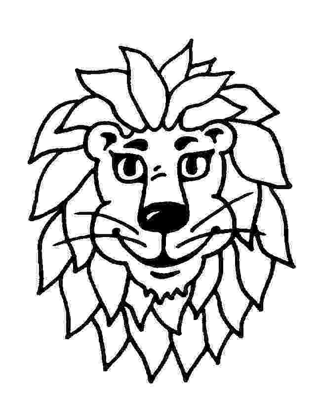 lion cartoon lion clipart outline free download best lion clipart cartoon lion