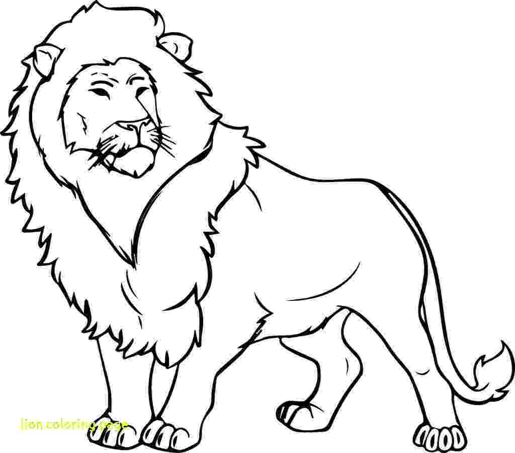 lion coloring sheets lovely cartoon lion coloring page free printable coloring lion sheets
