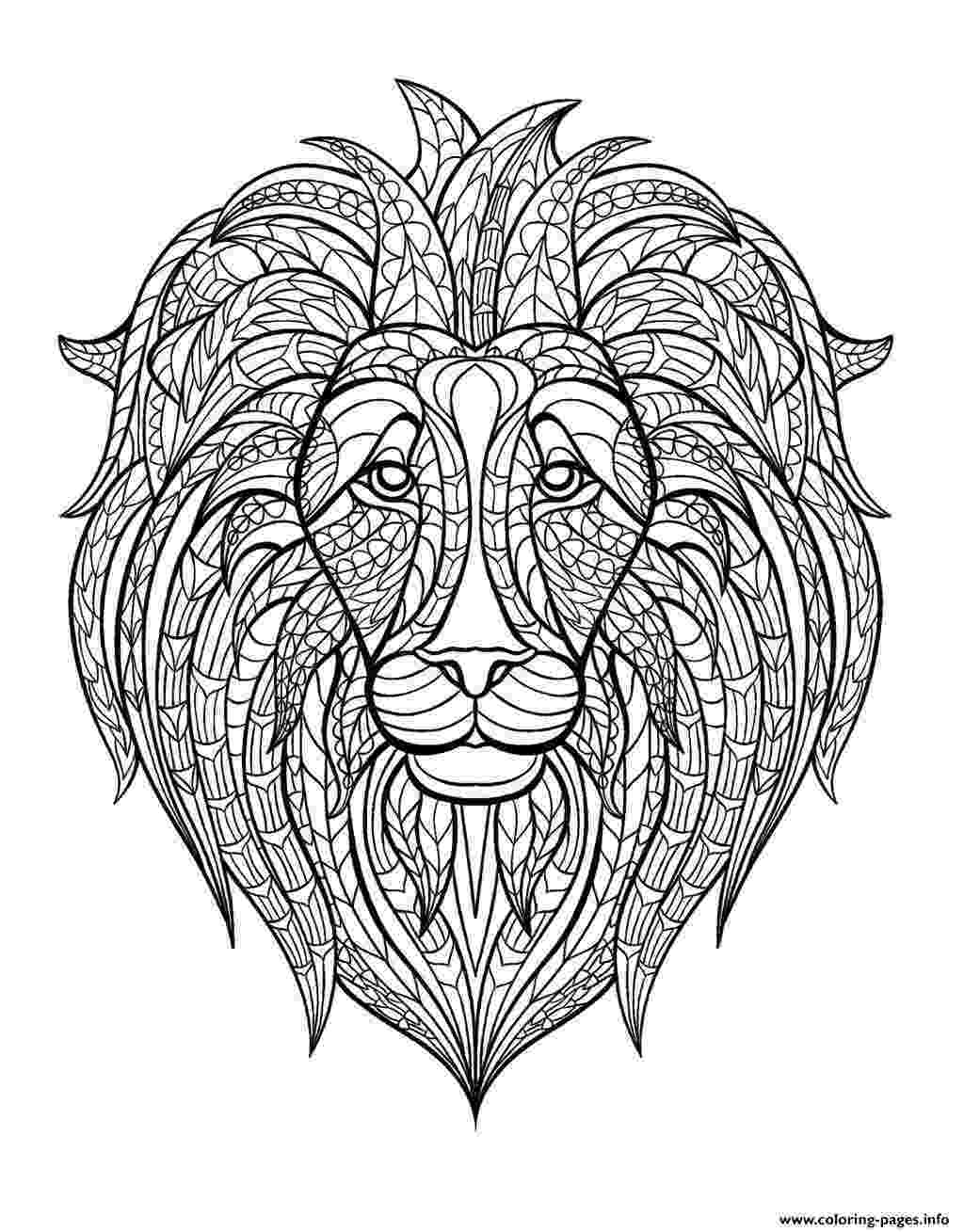 lion head coloring page coloring pages draw a lion head free coloring pages coloring head lion page