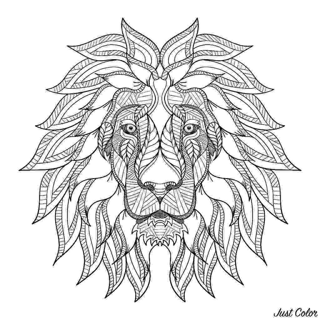 lion head coloring page lion eshop stickers coloring head lion page