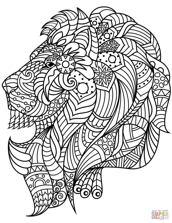 lion head coloring page lion face coloring pages getcoloringpagescom coloring page lion head