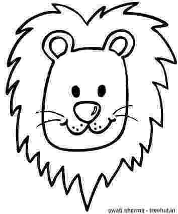 lion head coloring page lion head coloring page h m coloring pages head page lion coloring