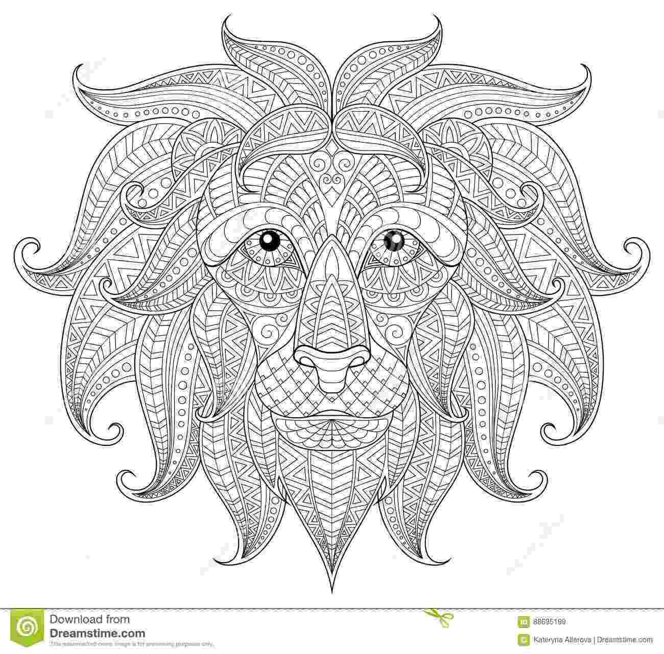 lion head coloring page lion head coloring page head coloring page lion