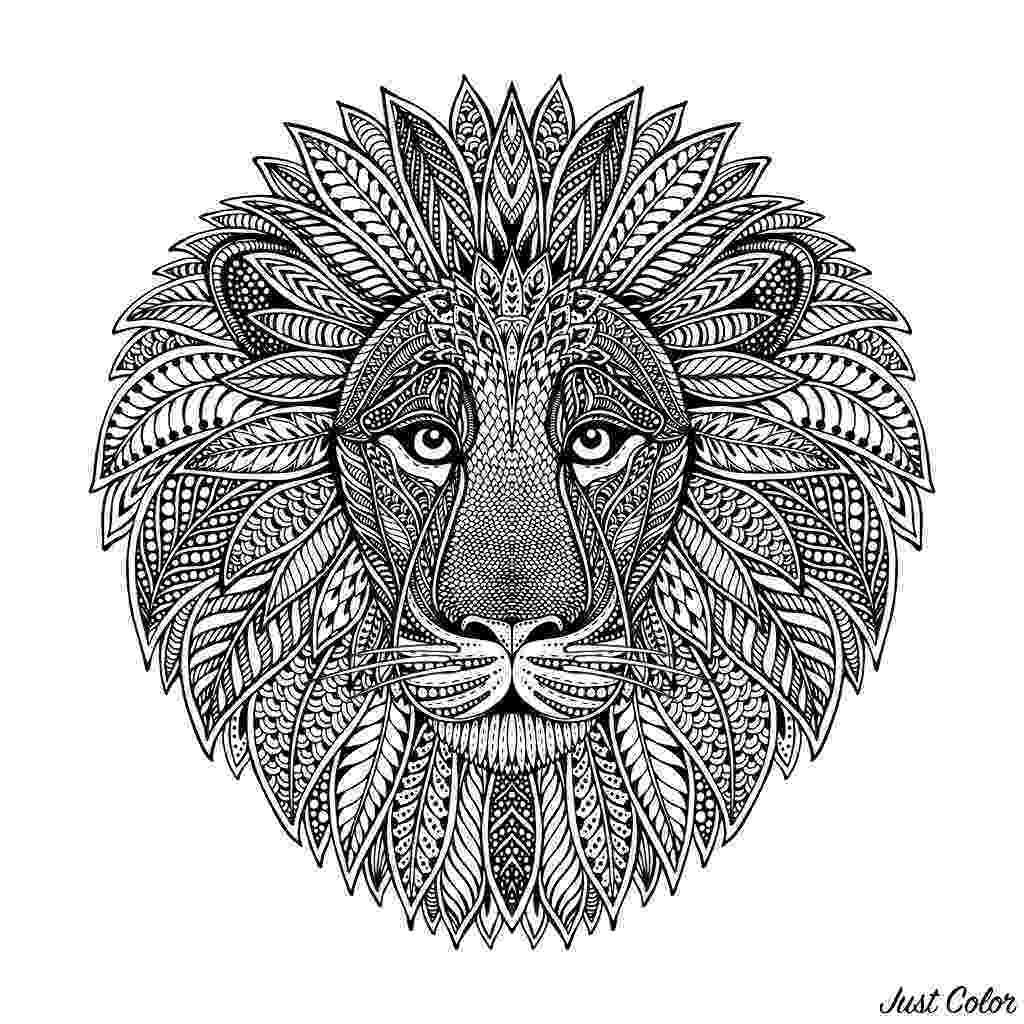 lion head coloring page lion portrait coloring page free printable coloring pages coloring page head lion