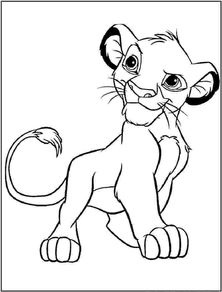 lion king printables lion king coloring pages best coloring pages for kids lion printables king