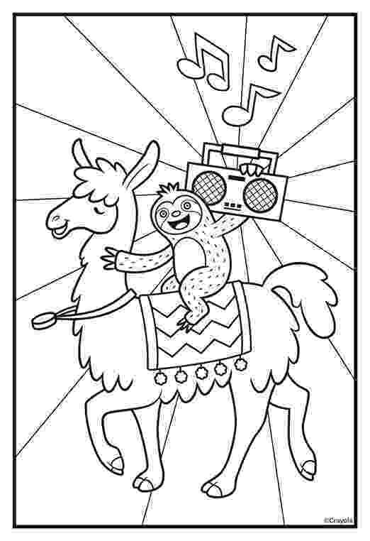 llama coloring page 10 cute free printable llama coloring pages online coloring llama page
