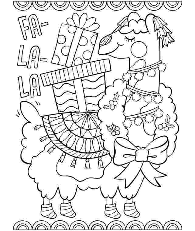 llama coloring page sloths love llamas boombox coloring page crayolacom coloring llama page