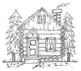 log cabin coloring page log cabin coloring page clipart panda free clipart images coloring cabin log page