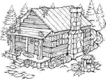 log coloring pages cabin in the woods drawing at getdrawingscom free for pages log coloring 1 1