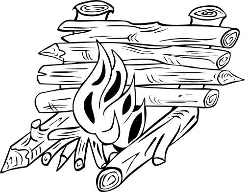 log coloring pages free log cabin clipart download free clip art free clip pages log coloring