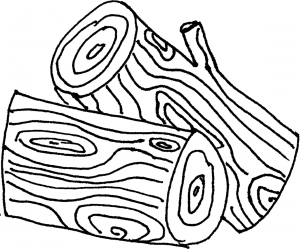 log coloring pages logs clipart panda free clipart images coloring log pages