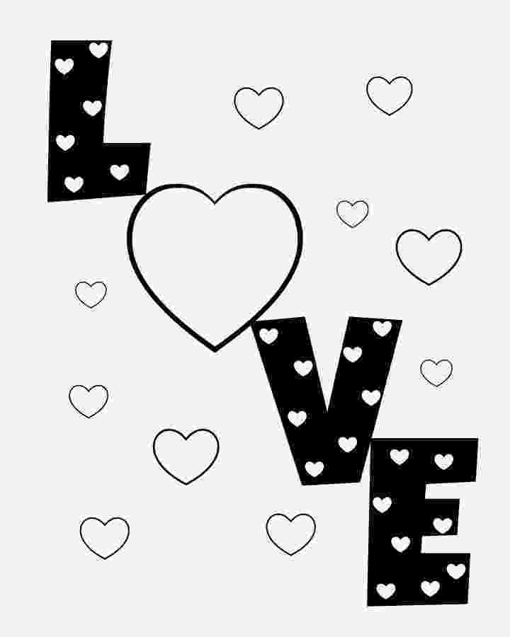 love hearts pictures to colour coloring pages heart love clipart best pictures hearts love colour to