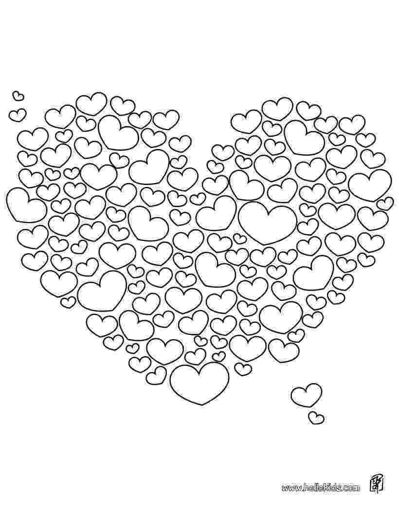love hearts pictures to colour hearts coloring pages to print heart coloring pages hearts love pictures to colour