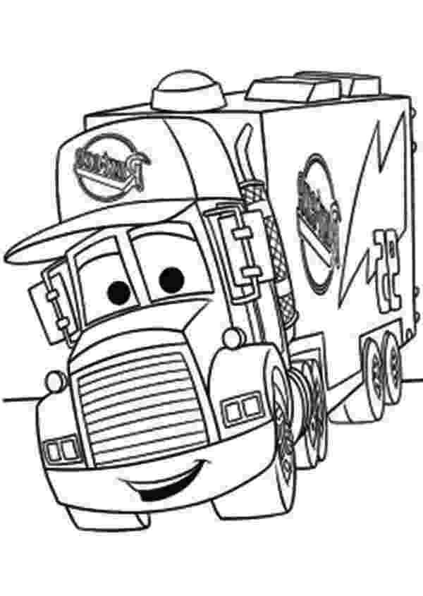 mack truck coloring pages free how to draw mack from cars download free clip art pages coloring truck mack
