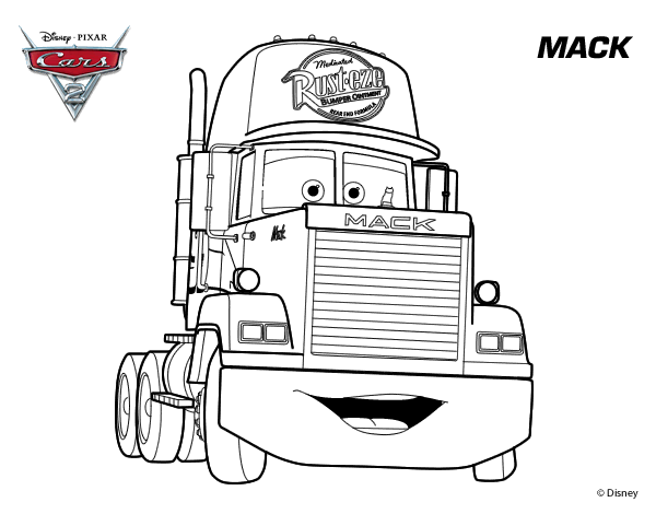 mack truck coloring pages lightning mcqueen mack truck coloring pages pages mack coloring truck