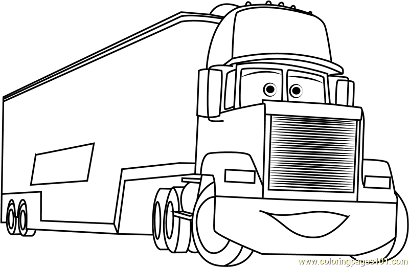 mack truck coloring pages mack coloring page free cars coloring pages pages mack coloring truck