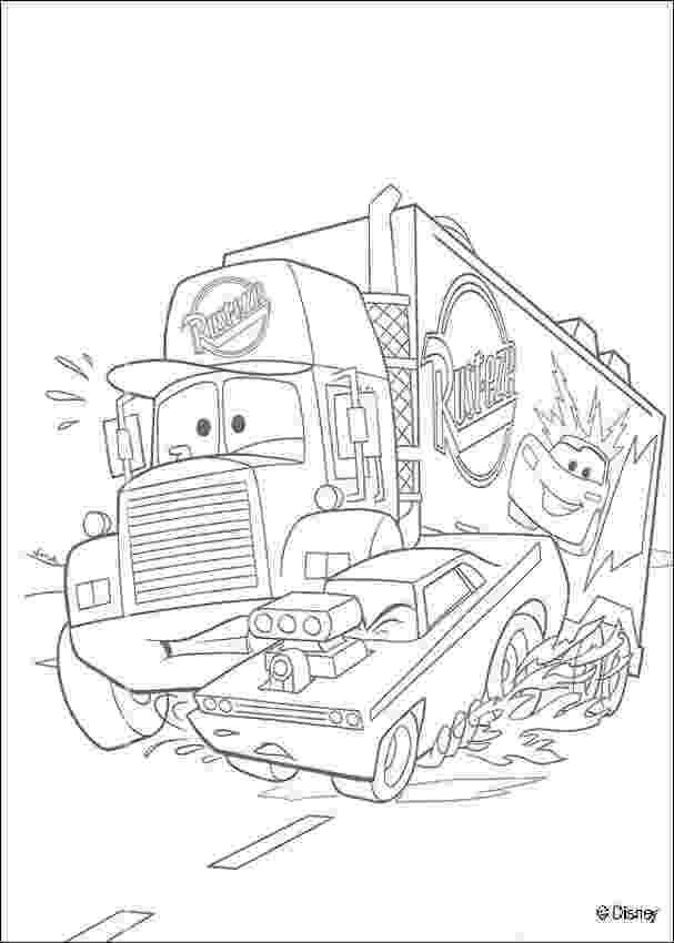 mack truck coloring pages mack superliner long trailer truck coloring page truck pages coloring mack truck